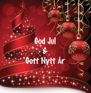 God Jul & Gott Nytt År 2019